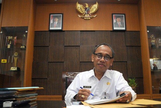 Kepala BKD Jatim Anom Surahno
