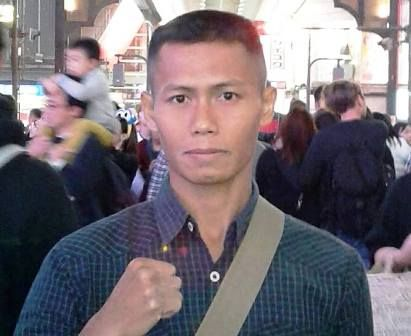 JAWARA WBC ASIA: Serka TNI AL Eri Subiyasno alias Erick Destroyer.