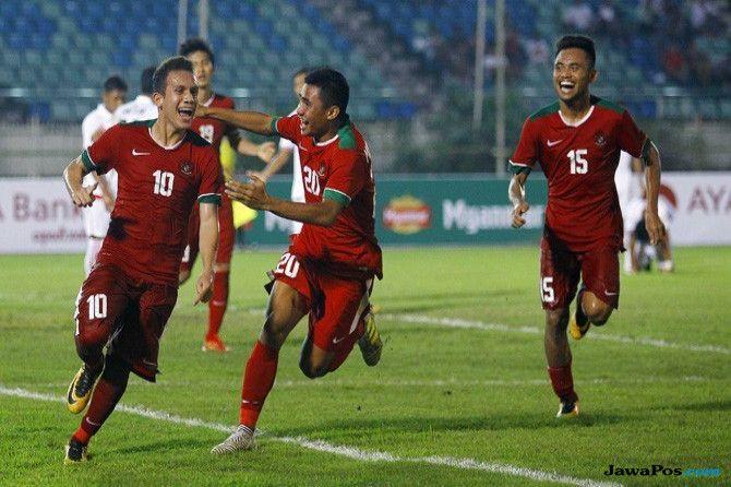 WAJIB MENANG: Egy Maulana Fikri siap membawa timnas U-23 meraih poin maksimal menghadapi Thailand sore nanti.