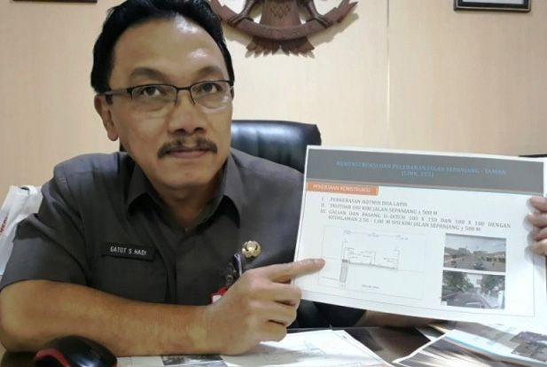 Kepala Dinas PU dan Bina Marga Jatim, Gatot Sulistyo Hadi