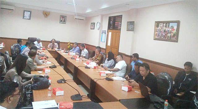 PEMANTAPAN: Rapat koordinasi persiapan event Nawa Bhakti 10K bersama perwakilan dinas terkait.