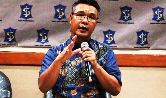 PRESKON: Kabag Humas Pemkot Surabaya, M Fikser.
