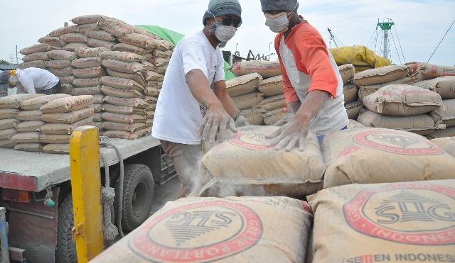 TUMBUH: Pendapatan PT Semen Indonesia pada kuartal I/2019 naik 22 persen dibanding 2018.