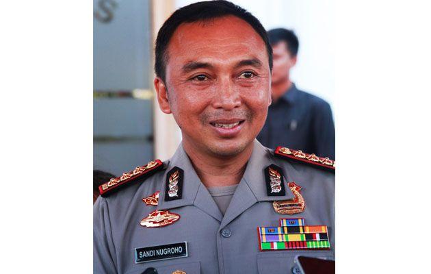 Kapolrestabes Surabaya Kombes Pol Sandi Nugroho