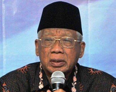 Ketua Umum MUI Jatim KH Abdus Shomad Bukhori