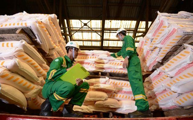 EKSPOR: Petrokimia Gresik terus meningkatkan kinerja ekspor untuk melepas ketergantungan pendapatan pupuk subsidi.