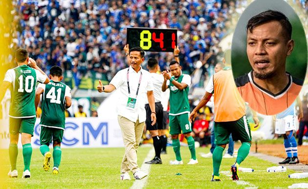 STOP DI LAGA KE-13: Coach Djanur harus mengakhiri kontrak dengan Persebaya dan digantikan asistennya, Bejo Sugiantoro.