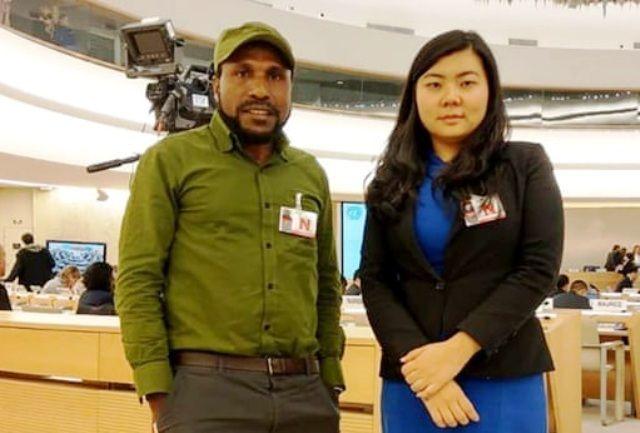 TERSANGKA: Veronica Koman mengadvokasi warga Papua.