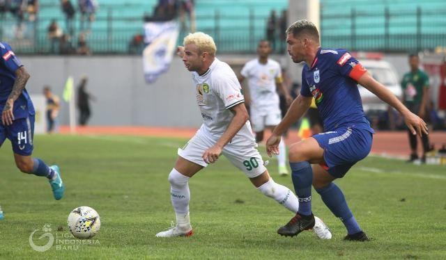 LEGIUN ANYAR: Diogo Campos yang baru saja membela Persebaya langsung mencetak 1 gol dan 2 assist.