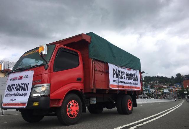 Bantuan logistik dari ACT untuk korban gempa di Maluku.