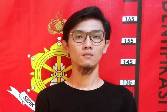 Tersangka Erick Dwi Guna Yulianto