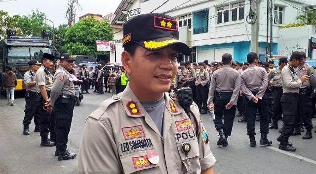 Wakapolrestabes Surabaya AKBP Leonardus Simamarta