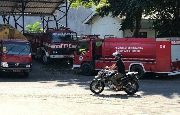 BELI BARU : PMK Gresik bakal membeli mobil pemadam kebakaran baru setelah mendapatkan anggaran miliaran rupiah.