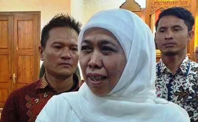 Gubernur Jatim Khofifah Indar Parawansa.