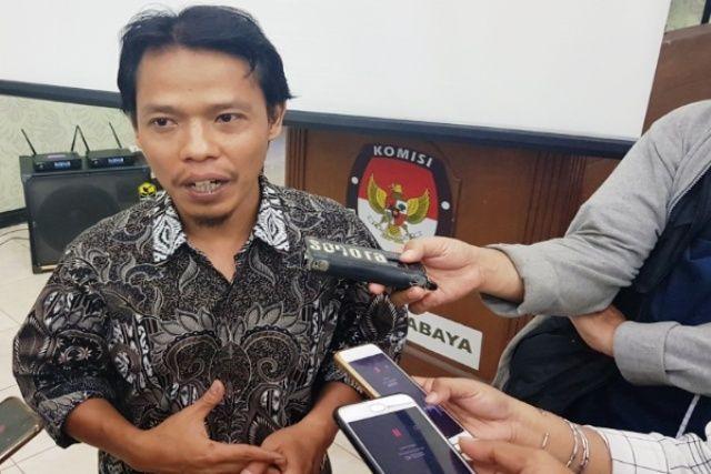 Komisioner KPU Kota Surabaya M Kholid Asyadulloh