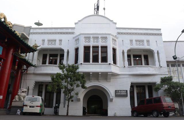 BERSEJARAH: Kantor Radar Surabaya di Jalan Kembang Jepun 167 Surabaya.