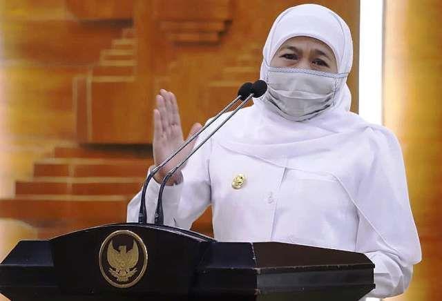 Gubernur Khofifah Indar Parawansa