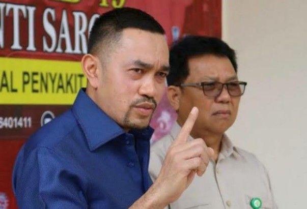 Wakil Ketua Komisi III DPR Ahmad Sahroni
