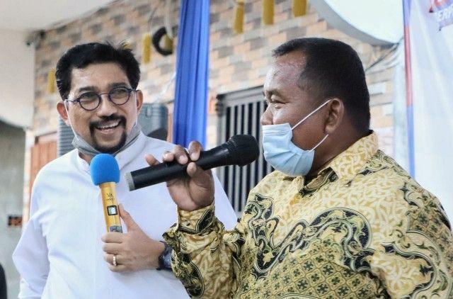 Machfud Arifin memotivasi warga agar bangkit dari pandemi Covid-19.