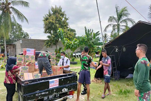 Tanggap Bencana NTB-NTT, BRI Group Salurkan Bantuan ke Warga Terdampak