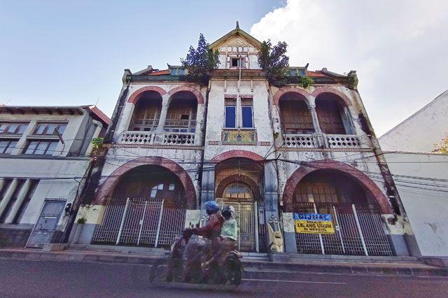 CAGAR BUDAYA DIJUAL: Gedung Algemene atau Gedung Singa yang dilelang oleh salah satu perusahaan asuransi BUMN.