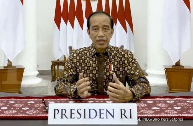 Presiden Joko Widodo mengumumkan perpanjangan PPKM Darurat.