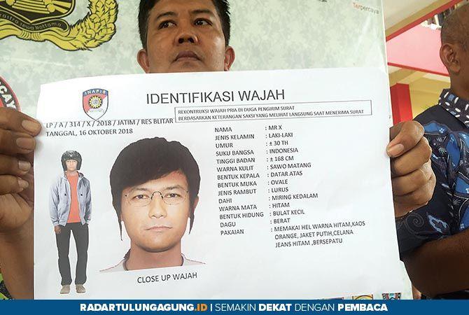 Polisi Sebar Sketsa Pengirim Surat Panggilan Palsu KPK ke Pejabat