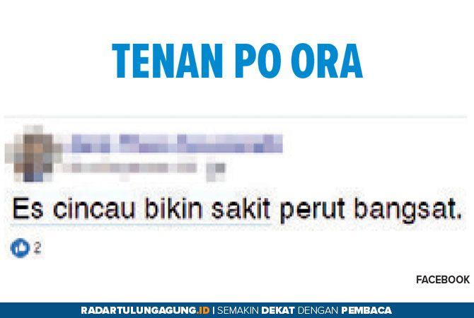Tenan Po Ora, Es Cincau Bikin Sakit Perut ?