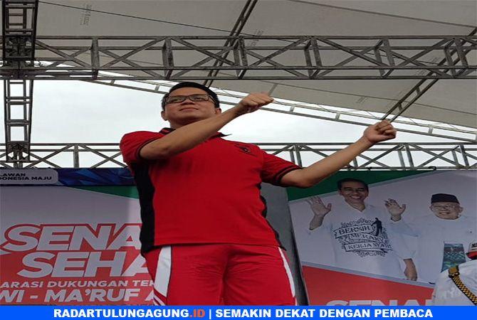 TOTALITAS :  Arteria Dahlan deklarasi dukungan terhadap  Jokowi-Ma'ruf Amin.