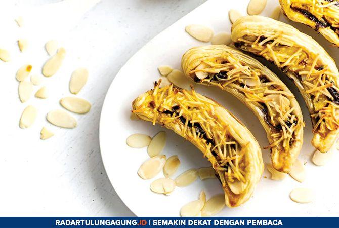 LEZAT: Banana milk crispy yang memiliki rasa manis, legit, dan gurih.