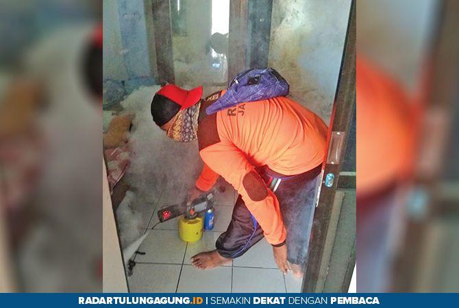 SESUAI ATURAN: Fogging tidak boleh dilakukan sembarangan karena bisa membuat nyamuk resisten dan pencemaran lingkungan.
