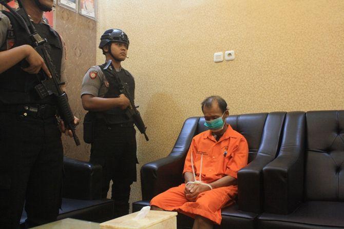 CABUL: Imam Maksum, kakek yang mencabuli korban dengan inisial Bunga yang masih di bawah umur