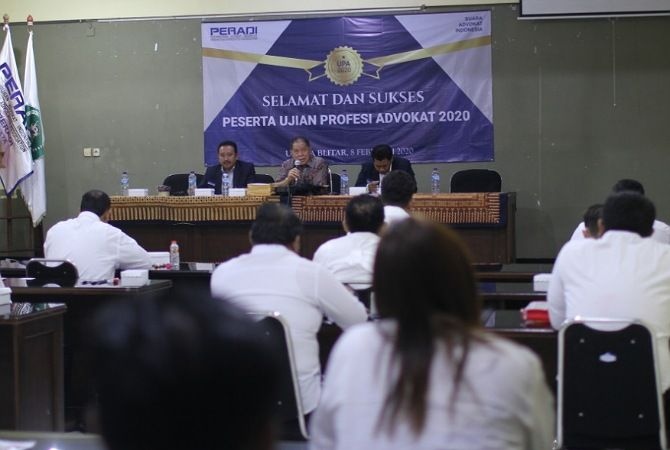 UNISBA Gelar Ujian Profesi Advokat, Diikuti Peserta se-Jawa