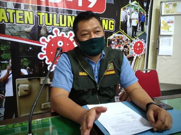 PROTOKOL KESEHATAN : Galih Nusantoro wakil jubir GTPP Covid-19 Tulungagung