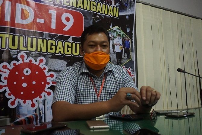 TERAPKAN 3M : Galih Nusantoro Wakil Jubir Gugus Tugas Percepatan Penanganan (GTTP) Covid-19 Kabupaten Tulungagung