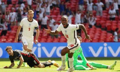 Menang 1-0 atas Kroasia, Sterling Antarkan Inggris Bikin Sejarah
