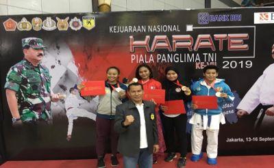 Keren, Brimob Cantik Polda Bali Raih Medali Emas Piala Panglima TNI