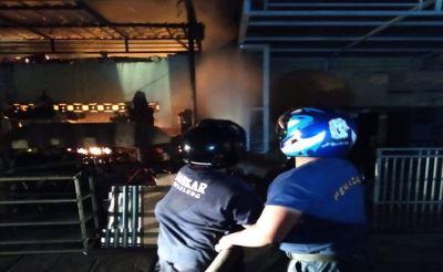 Mengerikan, Bengkel Las di Buleleng Terbakar, Korban Tewas Terpanggang