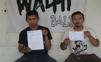 Koster Sebut Kualitas Alam Bali Menurun,Walhi Bali Kirim Surat Terbuka