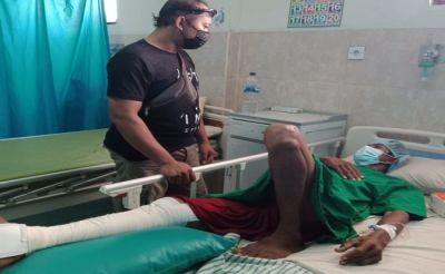 Diamuk Masa, Maling Sesari Jalani Operasi Akibat Kaki Kanan Remuk