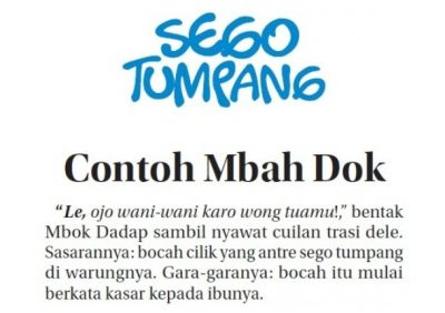 Contoh Mbah Dok