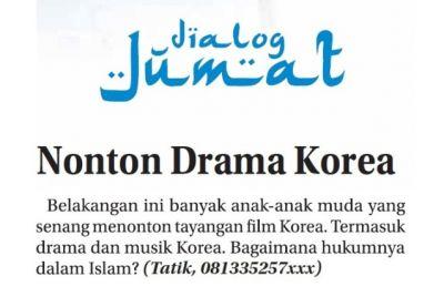 Tanya Hukum Nonton Drama Korea
