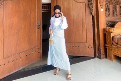 Mix and Match Slip Dress untuk Hijabers