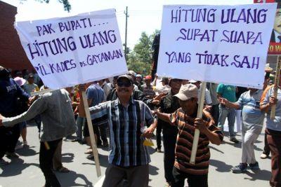 Tiga Desa Tuntut Hitung Ulang Pilkades
