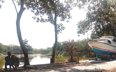 Melepas Penat di Taman Sukowati