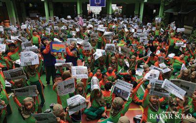 SD Muhammadiyah 1 Surakarta, Literasi Kesehatan, Budaya, dan Korona