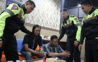 Hindari Petugas Satreskoba, Ditangkap PJR di Rest Area