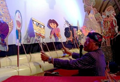Inovasi Wayang Kulit Gambar Kartun untuk Tarik Minat Generasi Milenial