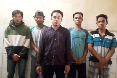 Janjian Pergi Mancing Malah Curi Kabel Telkom, 5 Pemuda Masuk Penjara