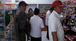 Bodong, Puluhan Toko Modern Ditertibkan Satpol PP Badung